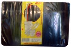 Straws black, 1000 pcs