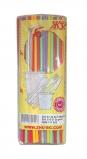 Straws colour, 100