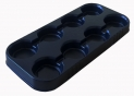 Multi-cell growing trays, pots diam.13