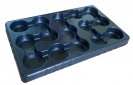 Multi-cell growing trays pots diam. 10