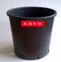 Container  D24 / H24 cм; 9.5 l.