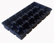 Multi-cell growing trays, pots 8 x 8