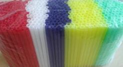 Cocktail straws - STAR 500pcs
