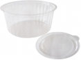 Roung food container 500 ml with inside cover